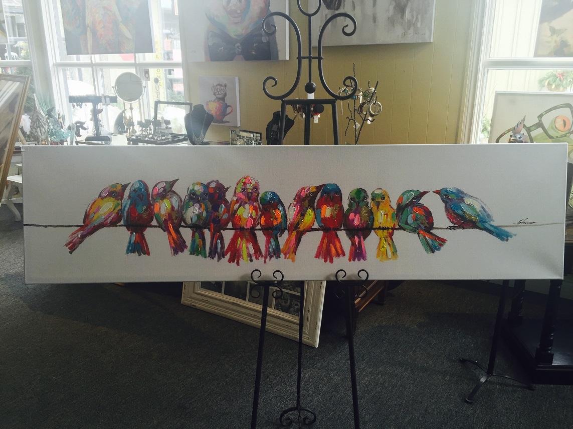 Quirky Art - Birds